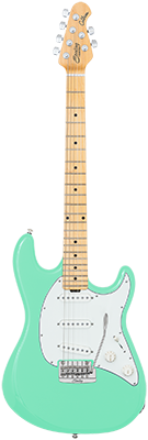 STERLING Cutlass CT50 E-Gitarre, Surf Green,