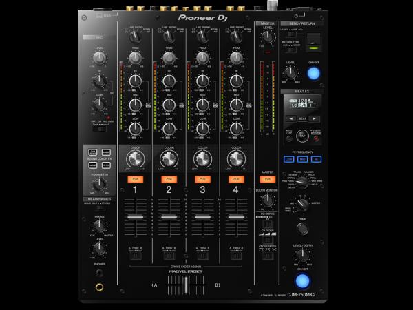 PIONEER DJM 750 MK2 Professioneller DJ Mixer