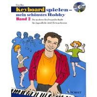 NOTEN Keyboard Spielen mein schönstes Hobby Band 2 Bye Uwe  ED 20755