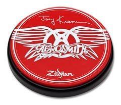 "ZILDJIAN 6"" Practice Pad Joey Kramer/Aerosmith"