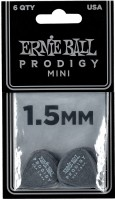 ERNIE BALL Plektren Prodigy Mini 1,50 mm schwarz 6 Stück EB9200