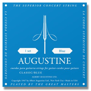 AUGUSTINE Klassik Gitarre Blue High Tension Satz
