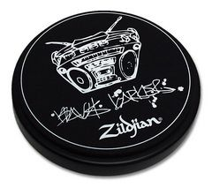 "ZILDJIAN 6"" Practice Pad Travis Barker"