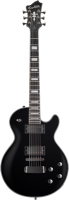 HAGSTROM E-Gitarre, Super Swede Ltd, Black Dark King