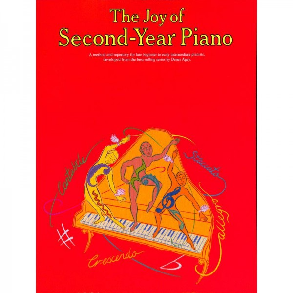 NOTEN The Joy of Second Year Piano MSYK 22176