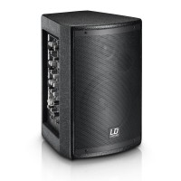 """LD SYSTEMS STINGER MIX 6 A G2 - 6,5"""" PA Lautsprecher aktiv mit integrierter 4-Kanal Mixeinheit"""