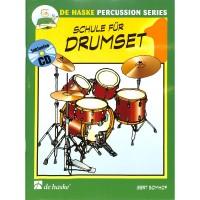 NOTEN Schule für Drumset 1 Bomhof Gert HASKE 991682