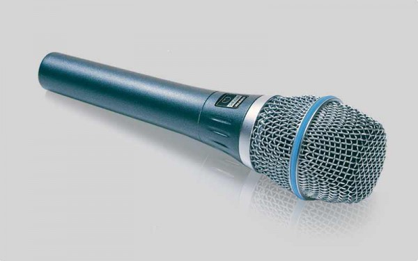 SHURE Beta 87A Kondensator Gesangsmikrofon (Superniere)