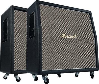 "MARSHALL 1960AHW Box 120 Watt, 4x12"" 16 Ohm, abgeschrägt,"
