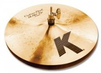 "ZILDJIAN K Custom Serie 13"" Dark Hats"