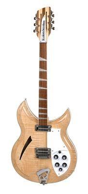RICKENBACKER E-Gitarre 381/12 V69, Mapleglo,12-Saiter