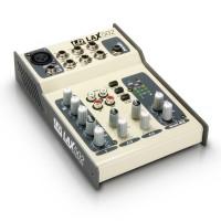 LD SYSTEMS LAX502 Mischpult 5 Kanal +48V