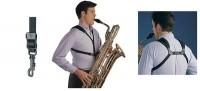 NEOTECH Saxophongurt Soft Harnes Junior schwarz Karabiner 752678