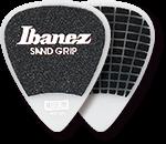 IBANEZ Plektren PPA14HSG-WH Flat Pick 6 Pack Sand Grip