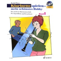 NOTEN Klarinette spielen mein schönstes Hobby Band 1 CD ED20640