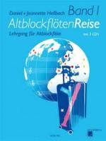 NOTEN Altblockflöten Reise Band 1 mit 3 CD's ACM266