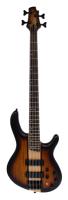 CORT Bassgitarre, C4 Plus ZBMH, Open Pore Tobacco Burst