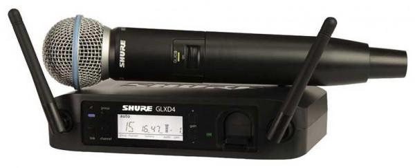 SHURE GLXD 24/B58 Drahtlossystem Beta 58 Funkmikrofon digital