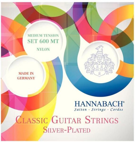HANNABACH Saiten Klassik Gitarre / Konzertgitarre 600MT Medium Tension 652257
