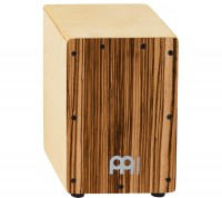 MEINL Mini Cajon Birchwood Exotic Zebrano