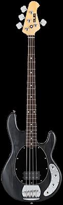 STERLING SUB Ray4 E-Bass, Trans Black Satin