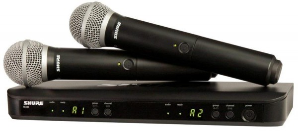 SHURE BLX 288/PG58 Drahtlossystem PG58 Dual System