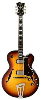 FGN Masterfield - Jazz Semiakustik-Gitarre