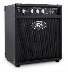 "PEAVEY Basscombo MAX158 20 Watt, 8"" Speaker, Tuner,"