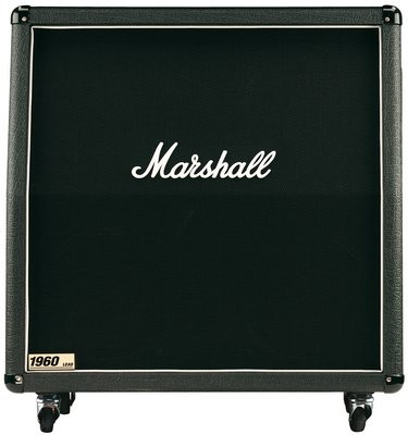 "MARSHALL MR1960A Box 300 Watt, 4x12"" 16 Ohm mono / 2x8 Ohm stereo,"