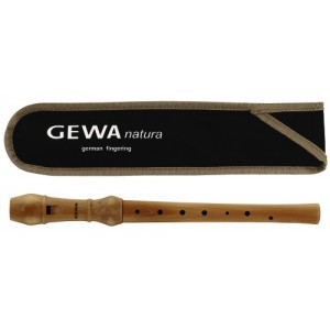 GEWA Blockflöte Nature C-Sopran barocke Griffweise 700190