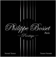 PHILIPPE BOSSET Gitarrensaiten für klassische Gitarre / Konzertgitarre Clear Nylon