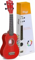 STAGG US-RED Ukulele Sopran