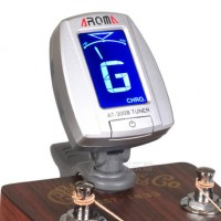 AROMA Clip-On Tuner AR AT300 BSV Silver
