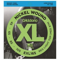 D'ADDARIO EXL165 BASS STRINGS Soft TOP/Reg Bottom/Long Scale 045-105