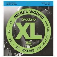 D'ADDARIO EXL165 BASS STRINGS Soft TOP/Reg Bottom/Long Scale 045-105
