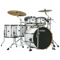TAMA Superstar Hyperdrive Rock SGW Sugar White Schlagzeug Set