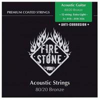 FIRE&STONE Acoustic Guitar Strings 12-String Phosphor Bronce 665640