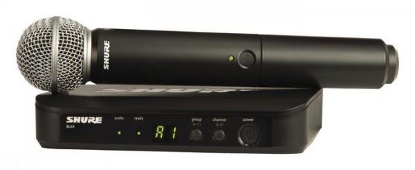 SHURE BLX 24/SM58 Drahtlossystem SM58 Funkmikrofon analog