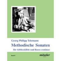 NOTEN Telemann Georg Methodische Sonaten 4 NR 1 C-M M22016