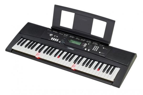 YAMAHA EZ-220 Keyboard Schwarz