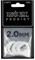 ERNIE BALL Plektren Prodigy Standard 2,00 mm weiß 6 Stück EB9202