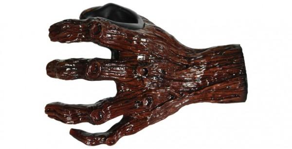 GUITAR GRIP Gitarrenwandhalter Hand Carved Ent-Wistle, Left