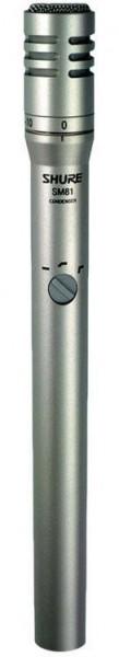 SHURE SM81 Studio Kondensator Mikrofon