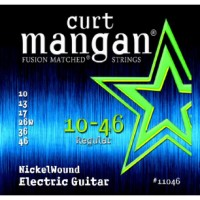 CURT MANGAN 10-46 Nickel Wound E-Gitarre Satz