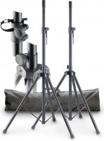 STAGG SPS-0820 Speaker Stand Set Stahl inkl Bag