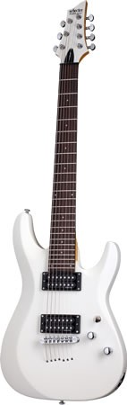 SCHECTER C-7 Deluxe E-Gitarre,