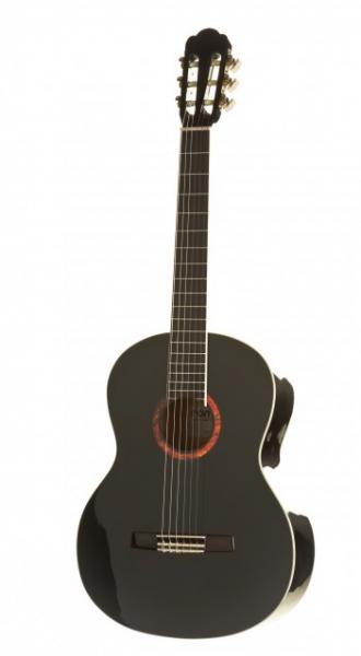 ROMERO by LaMancha Lava 41 3/4 Klassikgitarre / Konzertgitarre schwarz