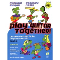 NOTEN Play Guitar Together 2 Langer  CD DO35926
