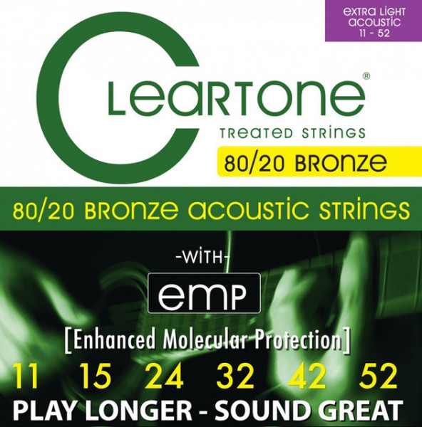 CLEARTONE Acoustic EMP Bronce Strings 11-52 CT7611