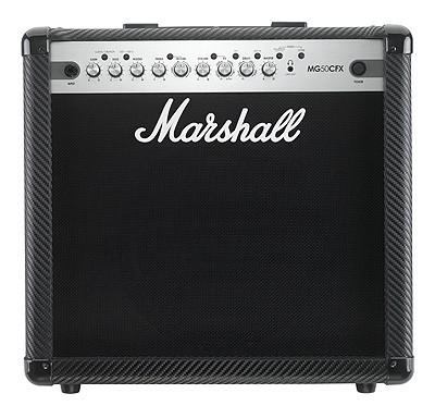 """MARSHALL Combo MG50CFX """"Carbo Kevlar"""" Finish,"""